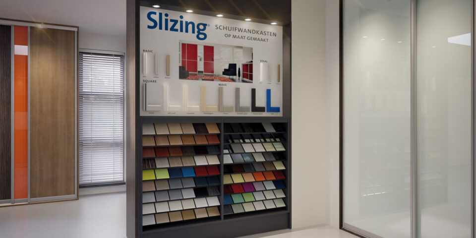 Slizing Kasten Showroom